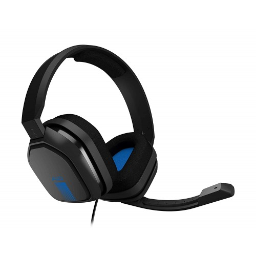 logitech  ASTRO Gaming A10 Gaming Headset - Blue - PlayStation 5, PlayStation 4