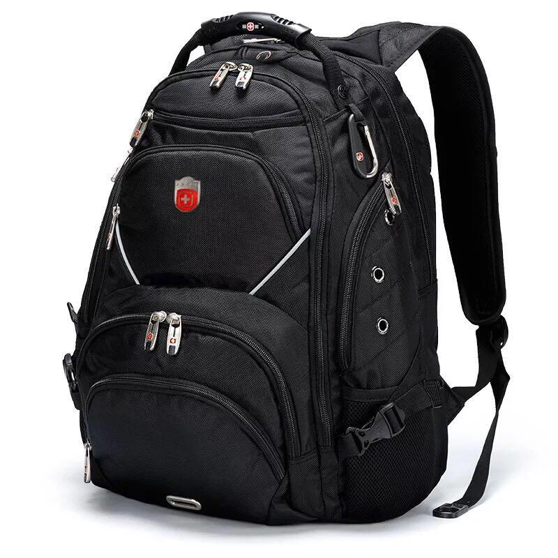 """SwissGear Travel Gear 9735 Scansmart TSA Laptop Backpack for Travel, School  Business - Fits 15"""" Laptop - Black"""