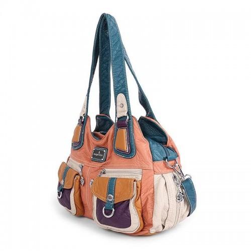 Angel Kiss Patchwork Color Women S Bag