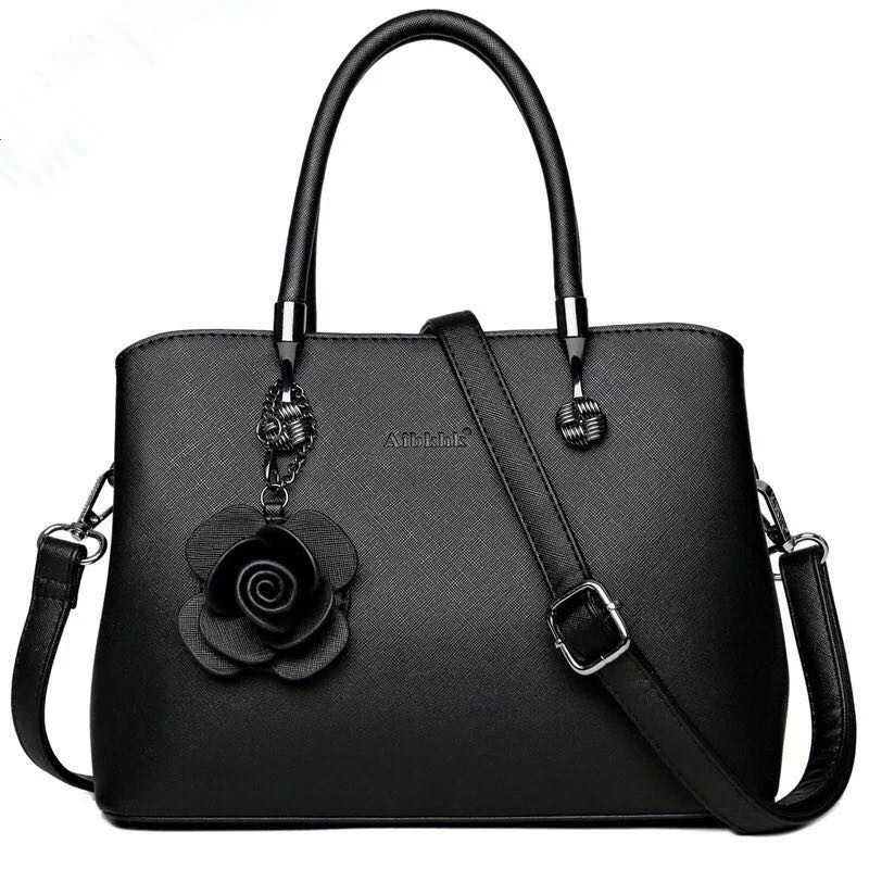 AIBKHK fashion large capacity leather handbag, women's top handbag, crossbody bag S9181
