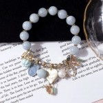 Female Simple Personality Forest To Send Girl Friends Gift Crystal Pendant Bracelet